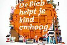 Kids in #Bieb023 / Kinderen en de bibliotheek. Wat doen ze er? Wat kunnen ze er vinden? Boeken zijn ook voor kinderen een feest!