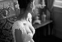 wedding dress / shoes / jewelry