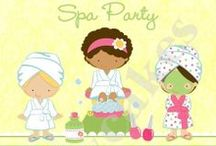 Spa party for my sweet girls