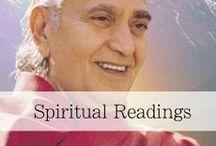 Spiritual Readings / Immersing in spiritual readings will help the sadhaka (spiritual aspirant) to deepen their sadhana (spiritual practice) and therefore, have a joyful living experience.