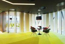 Kancelář snů / Nápady na vylepšení interiéru kanceláří či home office, zajímavé kancelářské vybavení, potřeby, kancelářskou techniku či design.