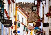 Óbidos - Places to visit / Visit Óbidos, with it's beautiful castle and houses!