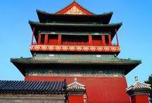 Hutongs in Beijing / Traditionele hutongs in Beijing om het echte Chinese leven op te snuiven