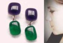 Glass Jewelry / Üveg ékszer by PinkaDesign / Own Hand made jewelry