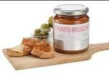 Sugo Pronto Bruschetta / Un sapore semplice ma altrettanto saporito e deciso distingue questi prodotti rendendoli dei sughi da bruschetta dal gusto dolce e delicato.