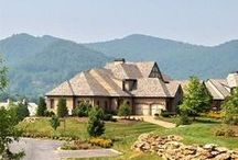 Homes in the Cliffs at Walnut Cove / Luxury, custom-built homes in the Cliffs at Walnut Cove  #walnutcoverealty