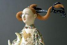 NIADA artist Shelley Thornton / Cloth Doll Art