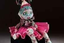 NIADA artist Donna May Robinson / Cloth Doll Art