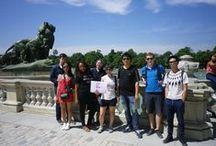 PARQUE DEL RETIRO - JUNIO 2015 - VISITA CULTURAL / Visita cultural que los alumnos de español para extranjeros realizaron en el Parque del Retiro, en Madrid, el viernes 5 de junio de 2015.