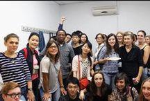 COMIDA INTERNACIONAL SEPTIEMBRE 2015 PARANINFO. / Comida internacional celebrada en septiembre de 2015 en la Academia Paraninfo. Fotos de los platos y las personas que asistieron. Gran ambiente de profesores y alumnos Fue todo un éxito.