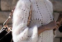 Knitwear Style and Fashion / Knitwear photography, knitwear inspiration, knitwear style