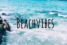 B E A C H   V I B E S / The beach makes everyone happy. This is this joyful, positive feeling that inspires Tara Matthews to design swimwear that suits every body shape and size.