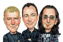 Rush (RRHOF 2013) / Rock and Roll Hall of Fame, FINALLY nominated and inducted! / by KRC4446