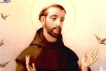 """St. Francis of Assisi / Fr. Paul Wattson, the founder of the Franciscan Friars and Sisters of the Atonement, wrote: """"Among those servants of God who have taken literally the words of Christ and his counsel, """"Seek first the Kingdom of God and his justice and all these necessary things will be given to you,"""" [Matt.6:33] is St. Francis of Assisi."""""""