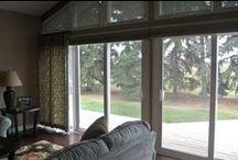 Our Hunter Douglas Client Windows