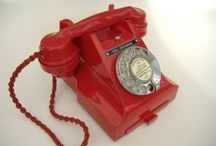 Bakelite Telephones / British Bakelite Telephones. 1930's to 1959.