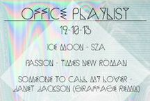 Office Playlists / Another week, another playlist! The eventseeker team puts together office mixtapes via soundcloud to help you get through the week!   Just. Press. Play. http://bit.ly/1h18QaG