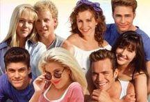 90210 / Recuerdos de los protagonistas de las serie televisiba beverly hills 90210 en los 90's