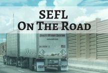 SEFL On The Road / Southeastern Freight Lines is always on the road!