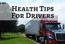 Health Tips For Drivers / Take care of your health!