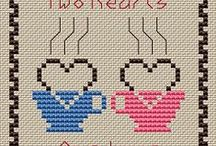 Valentine Stitching & Crocheting / .