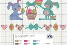 Cross Stitch-Spring & Easter delights