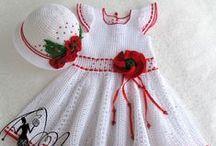 Vestidos para niñas *** / by terita soler