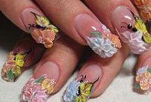 URODA - PAZNOKCIE / Sposoby malowania paznokci