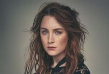 """ACTRESS   Saoirse Ronan / Her first name is Irish and means """"freedom"""". Her last name means """"little seal""""."""