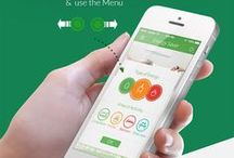 Digital: UI/UX Design Tips / Flat & Material design. Sketches. Mockup. Ideas.