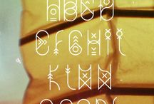 Tattoo Fonts / First Research & Impressions!