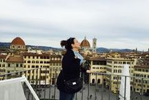 My Trip to Florence / My week in Florence, walking, watching, eating, drinking, and learning Italian.