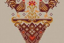 Cross Stitch-chic..chic...CHICKENS!