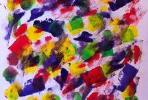 V(L)akwerk , druk en stempel technieken. / Een boekje met verschillende druk, schilder en stempel technieken. Alle lessen komen uit de praktijk. www.facebook.com/zoekderuimte www.zoekderuimte.nl