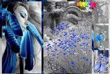 ColorSplash Blue / by José