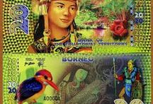 World Banknotes / Currency banknotes from the 7 continents of the planet.  Rich in history, culture, natural history and famous people. A unique world of art that is astounding in its variance and beauty.