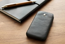 Ultraslim phone cases / Perfect for those who prefer zero bulk. Genuine Leather.