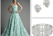 Minty Fresh / Check out this seasons coolest color trend! Mint green will keep the wedding party feeling fresh! Don't forget your bridal party accessories from adorn.com