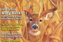 FUR-FISH-GAME Magazine covers