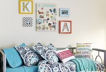 Dorm Décor / Who says Back To College shopping should be limited to just new clothes and school supplies? Create an inviting and inspiring space for your student with our large selection of affordable, fun and colorful accessories!