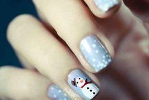 Christmas Nails / If you love Christmas and Nails then you can do both and show off this awesome ideas for your Christmas Nails and this will be the best and enjoy this project :)