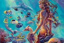 Mermaids / If you love mermaids then here you go here are the most beautiful creatures that you will see here and wish to be enjoy looking through these beautiful creatures :)