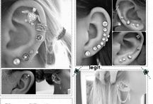 Piercings / If you love piercings then here you go here I will show you the best ways find a good piercing you want and enjoy and show them off to your friends :)