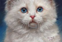 Custom Pet Portraits by Yana Golikova / Here you can find My Pastel and colored pencils pet portraits. Thanks:) / by Yana Golikova