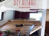 Wohnmobil DIY Ausbau / Inspirationen für den Selbstausbau von LKW und Van zum Wohnmobil