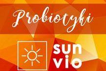 Probiotyki - SunVio / Słoneczna linia probiotyków SunVio na ratunek Twojego zdrowia!