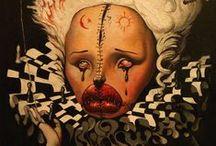 Clowns,Masks and Dolls / by Lisa Robbins Gray