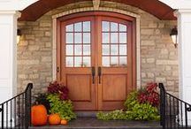 Upstate Door Custom Exterior Designs / Imagine a front entrance that is distinctively yours.  Upstate Door will work with you to create a front entrance door to your exact design and requirements.