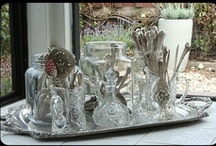 OLD SILVER, SHABBY MIRRORS AND CANDLELIGHT / by Deborah Tyree