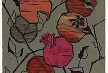 Linocut / hand print